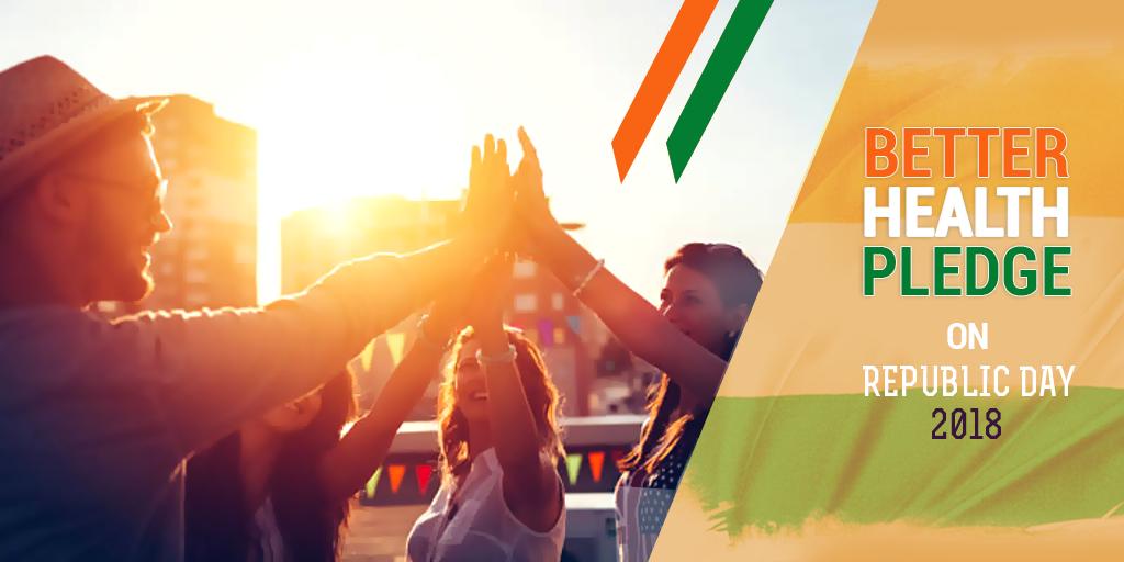 Better Health Pledge on Republic Day 2018, Buy Medicine Online, Online Pharmacy Noida, Online Medicines, Buy Medicine Online Noida, Nearby Pharmacy, Purchase Medicine Online, GoMedii