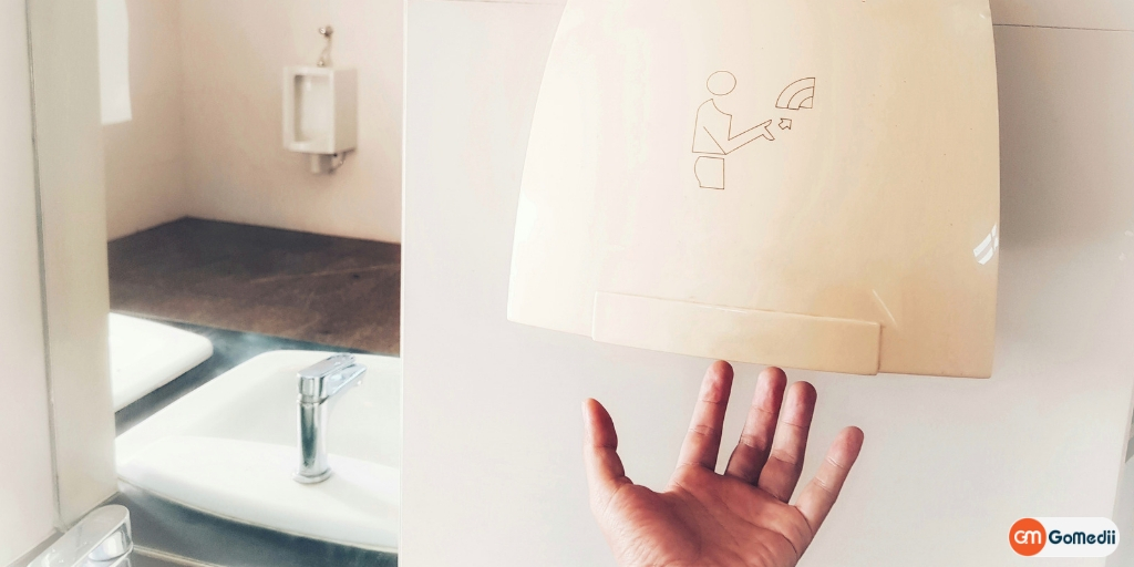 Hot-Air Hand Dryers Spread Bacteria and Viruses!! Really??