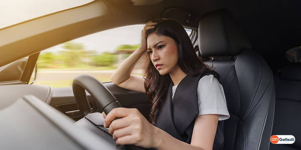 Stressed While Driving : Don't Avoid If You Are Living in Delhi-NCR