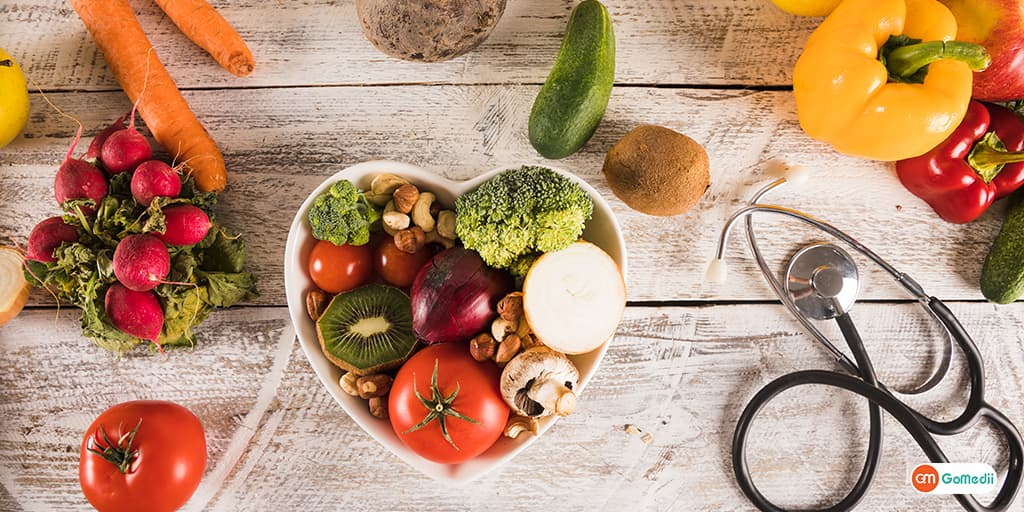 Balanced Diet For Chronic Disease To Keep Cholesterol & Blood Pressure Levels Under Control