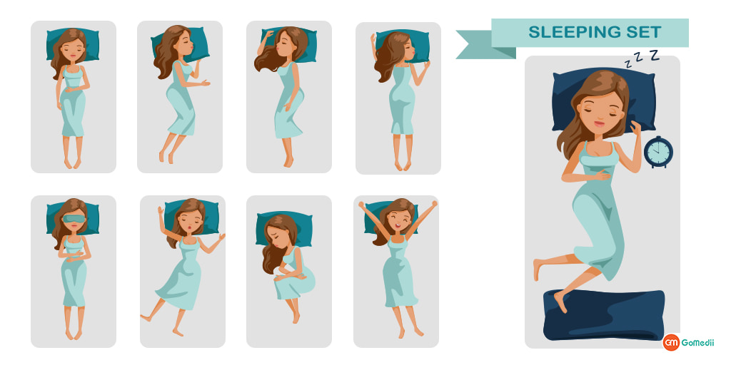 """Sleeping Positions – Say """"Good Night"""" to Neck Pain"""