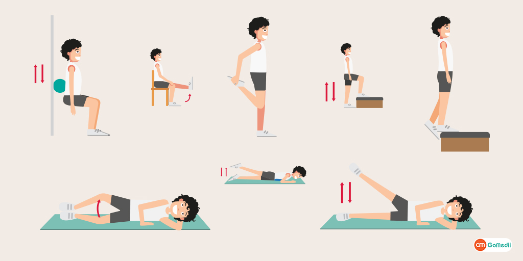 8 Best Exercises for Knee Pain Try These To Get Relief Soon