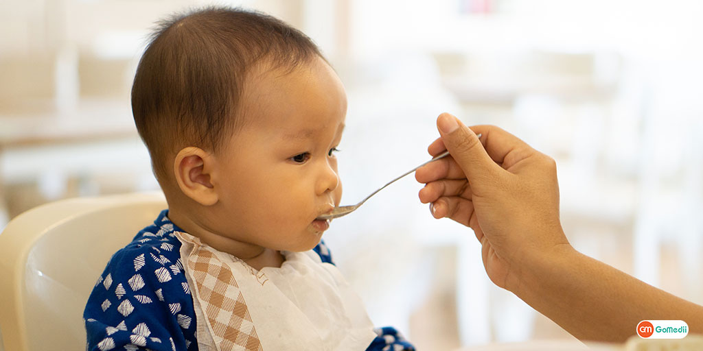 A Healthy and Nutritious Food for a 6-Month Baby