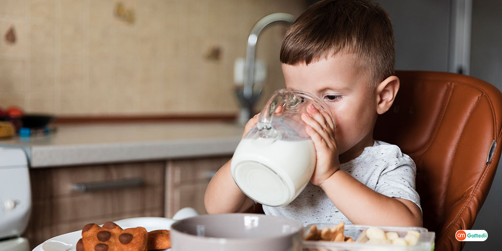 Know The Importance of Milk for Kids