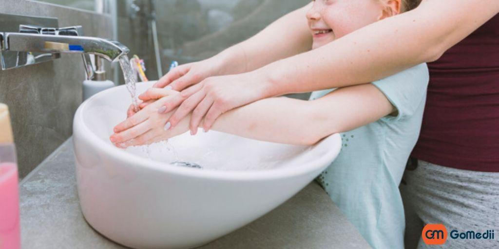Good Hand Hygiene Habits in Kids