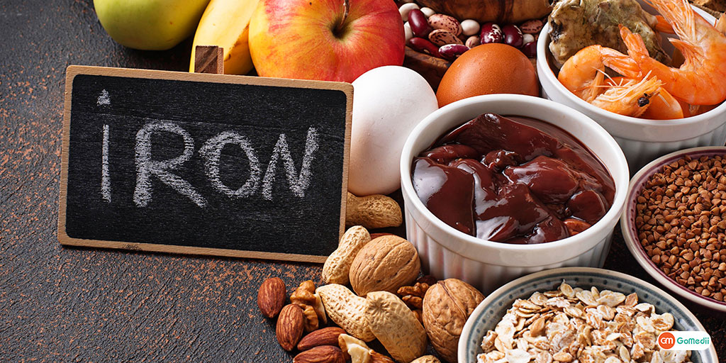 Iron deficiency Know the ways to treat it